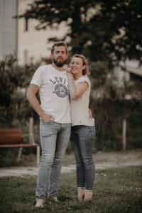 Shooting couple à Rennes