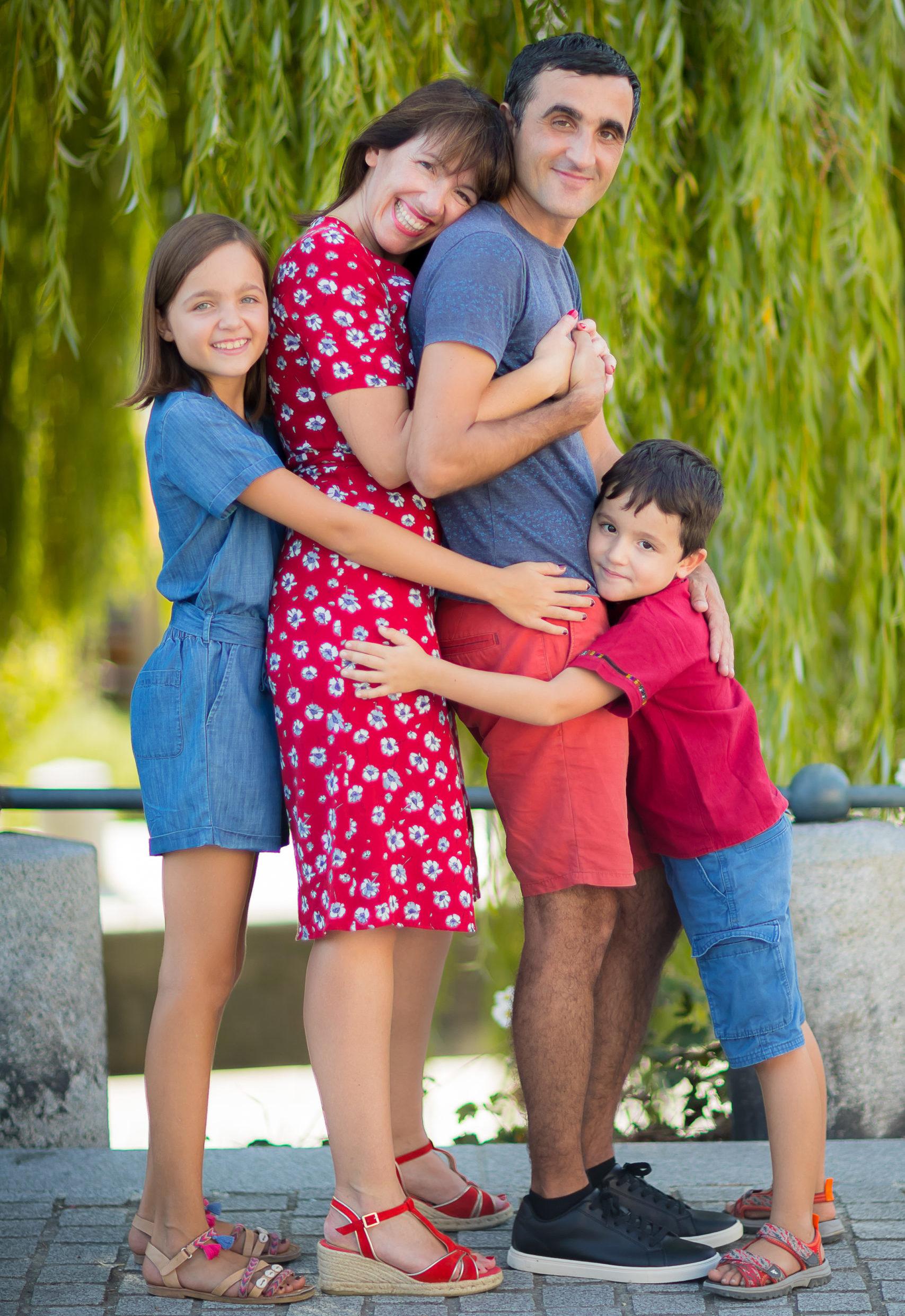 Photographe famille à Rennes