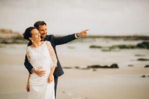 Mariage près de la mer