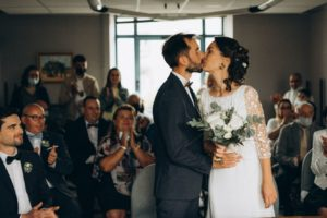 Cérémonie de mariage à la mairie