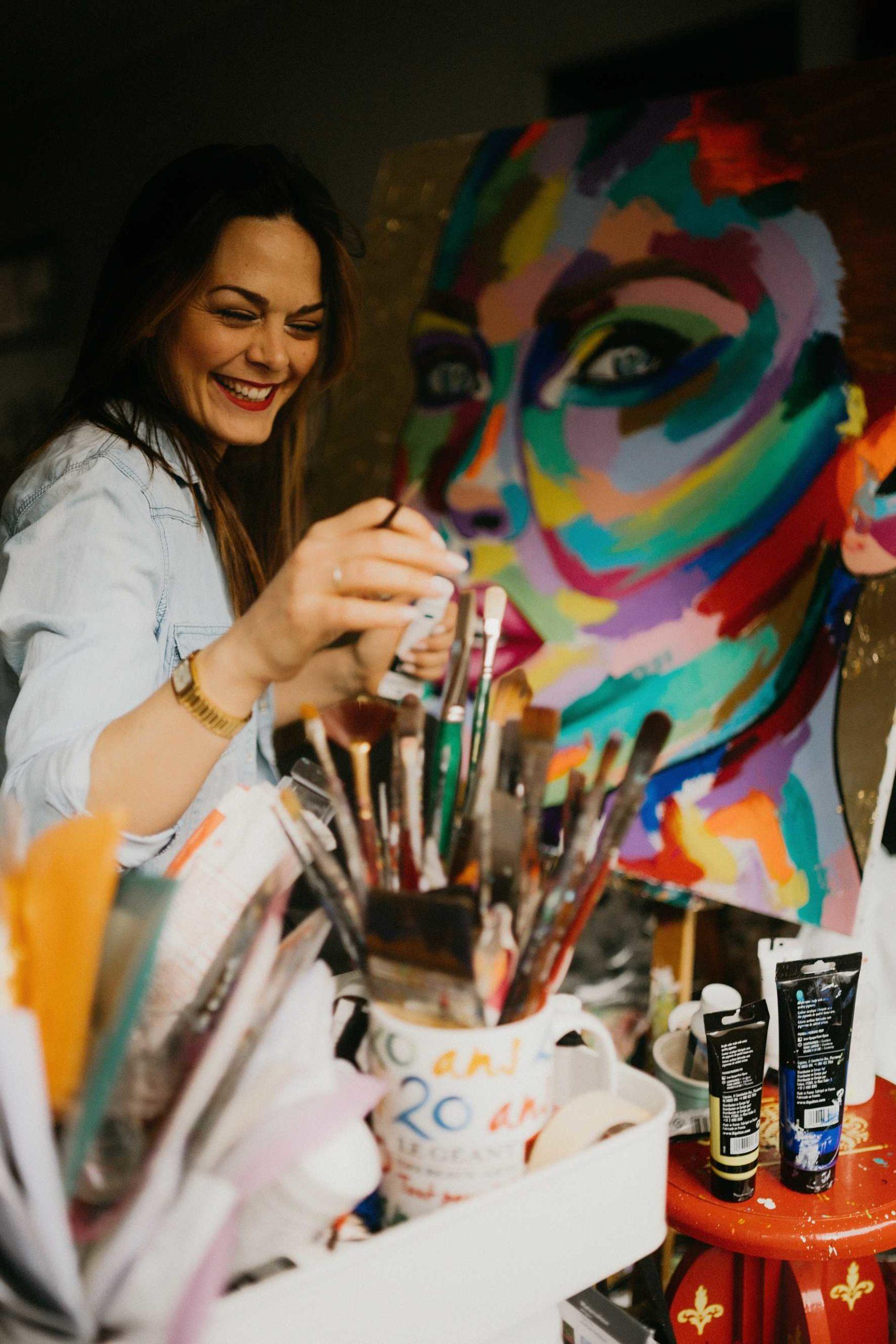Portrait d'Emilie Grison